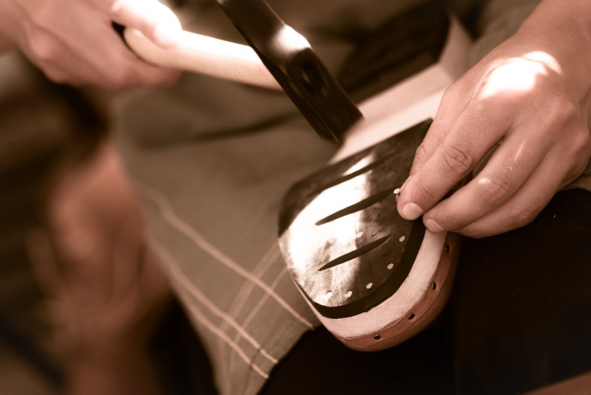 как сделать обувь не скользкой