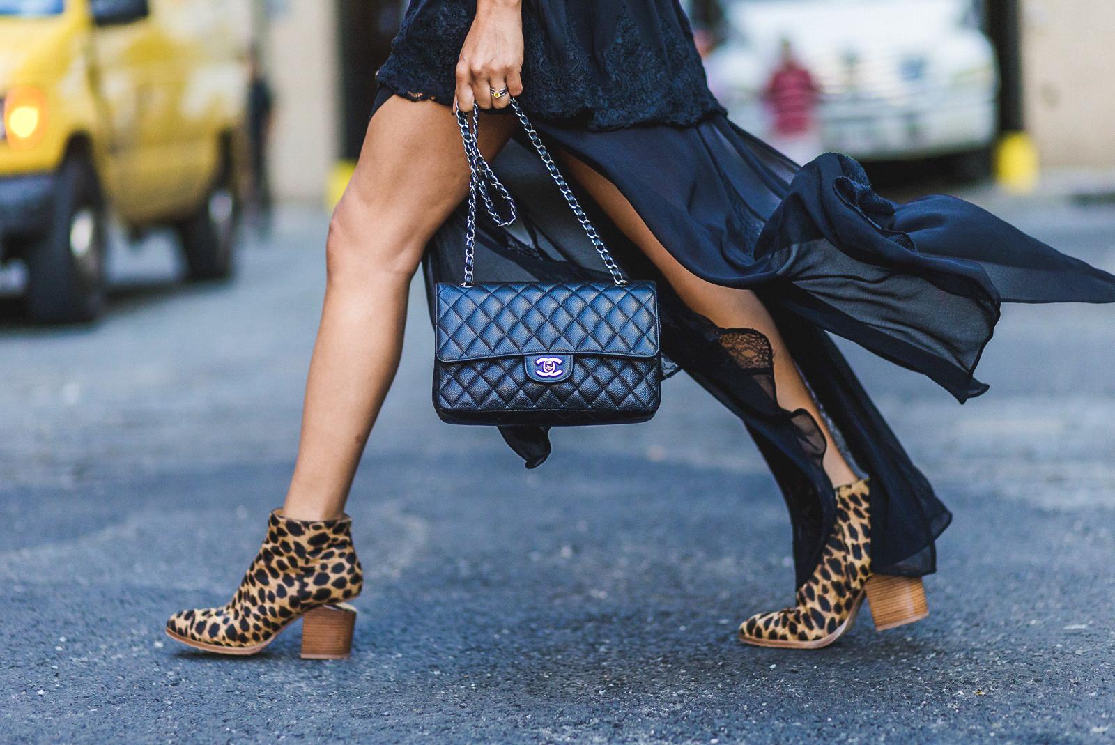 Леопардовый принт в обуви